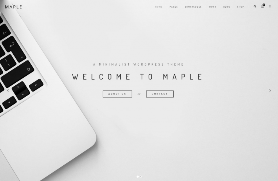 Maple – Responsive Multi Use WordPress Theme