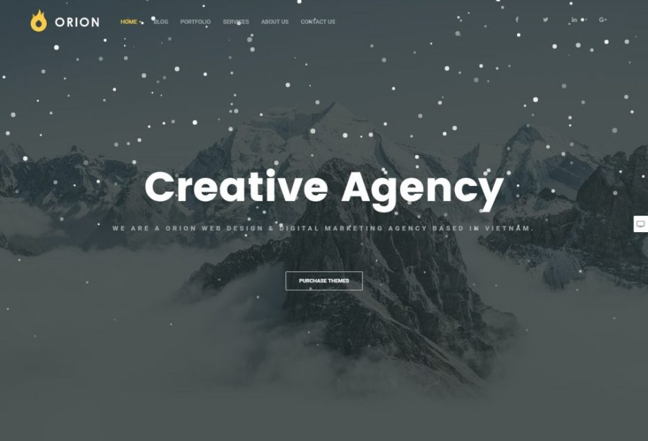 Orion – Creative Multi Purpose – Just another WordPress site-compressed