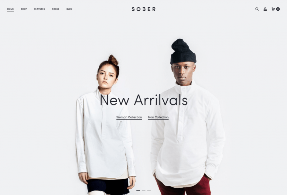 Sober – Just another UIX Themes Demo site