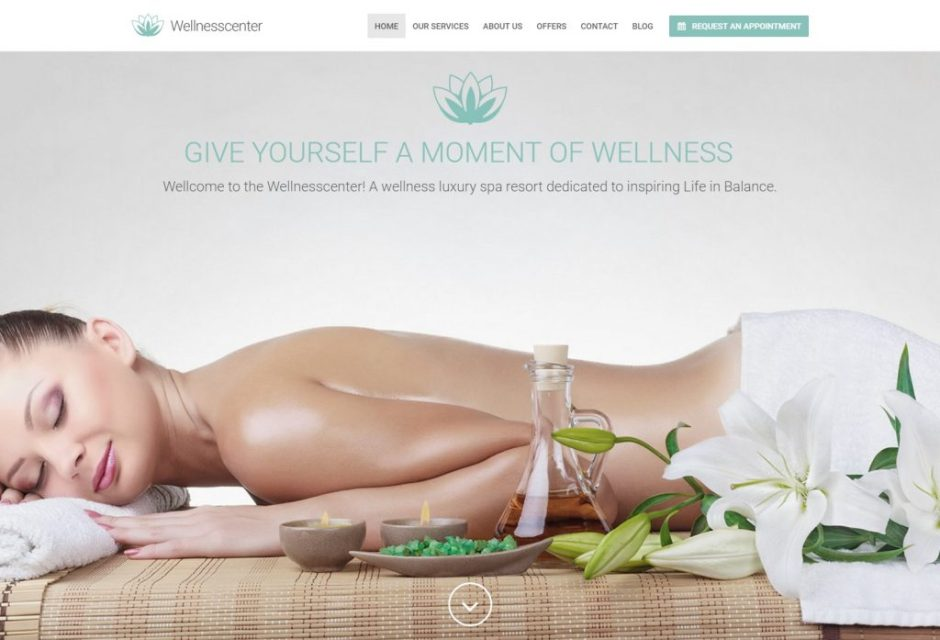 wellness Center WordPress theme – Just another Spa site-compressed