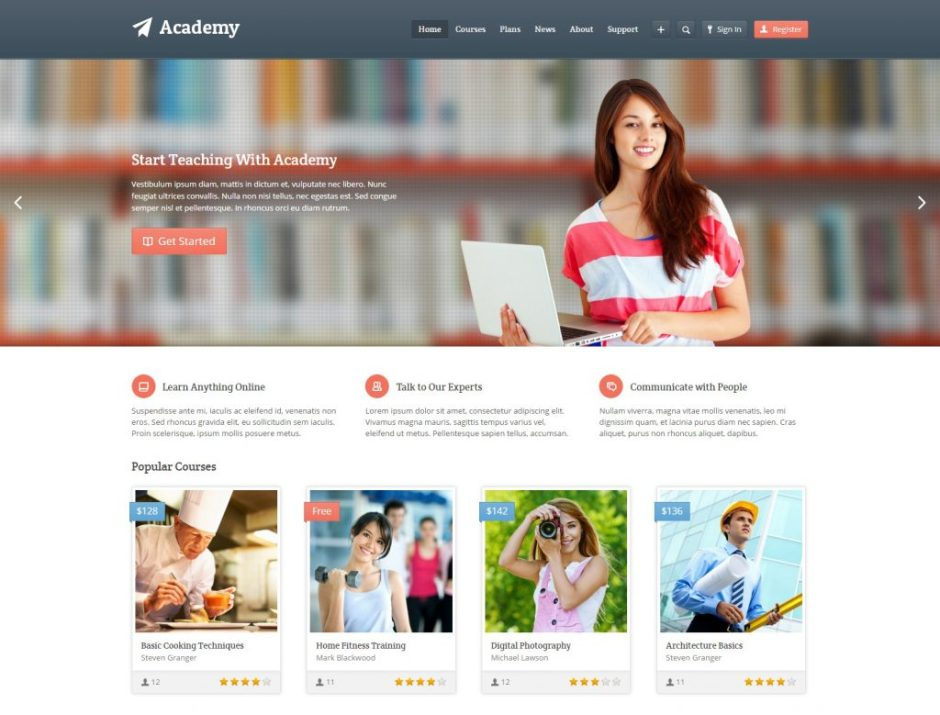 Academy – Learning Management Theme-compressed