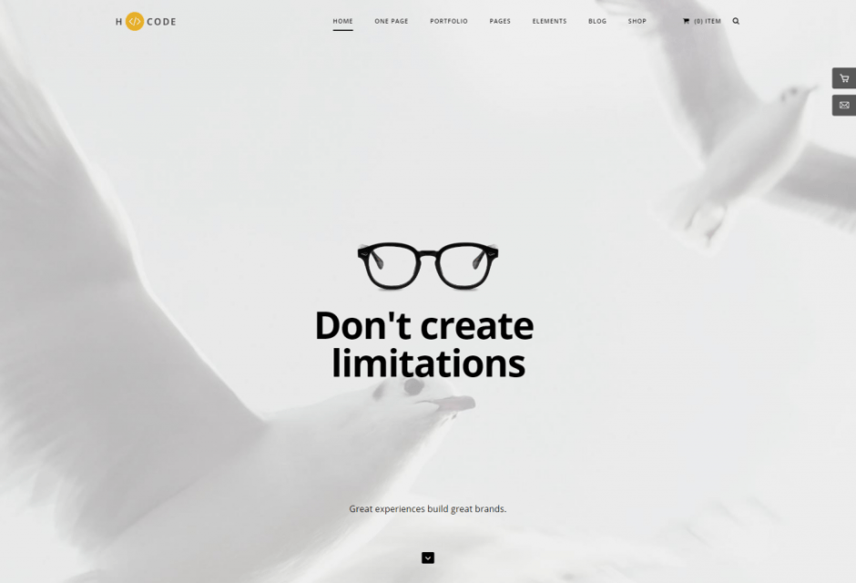 H Code – Responsive Multipurpose WordPress Theme – Home agency