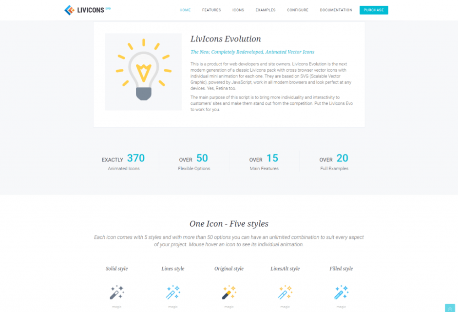 25+ Unique Themes with Special Effects, Best JS/CSS CodeCanyon
