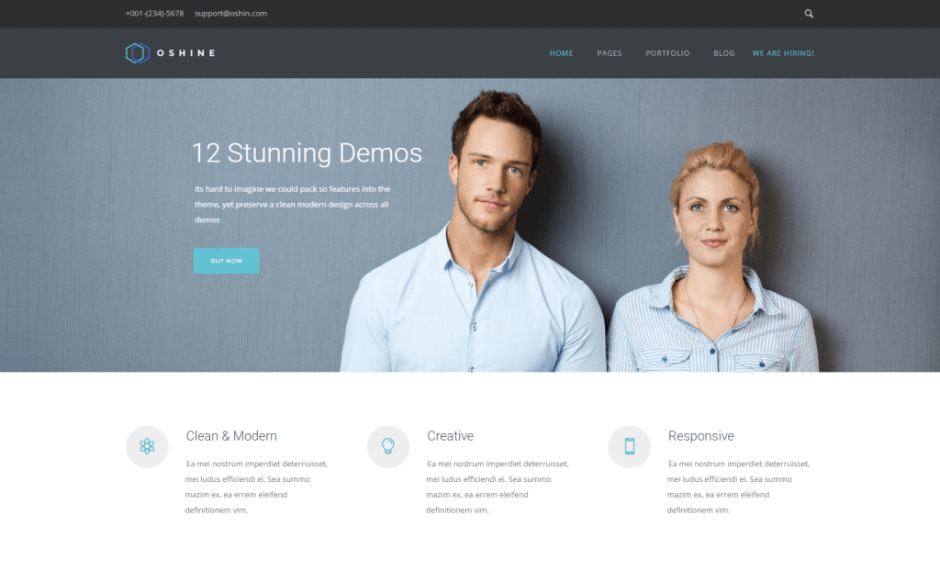 Oshine – Version 11 – Oshine – Best Creative Multi Purpose WordPress theme