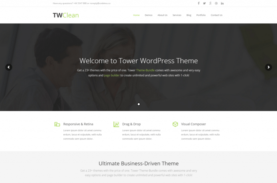 Tower – Multi Purpose Business Clean WP Theme Just another WordPress siteTower – Multi Purpose Business Clean WP Theme Just another WordPress site