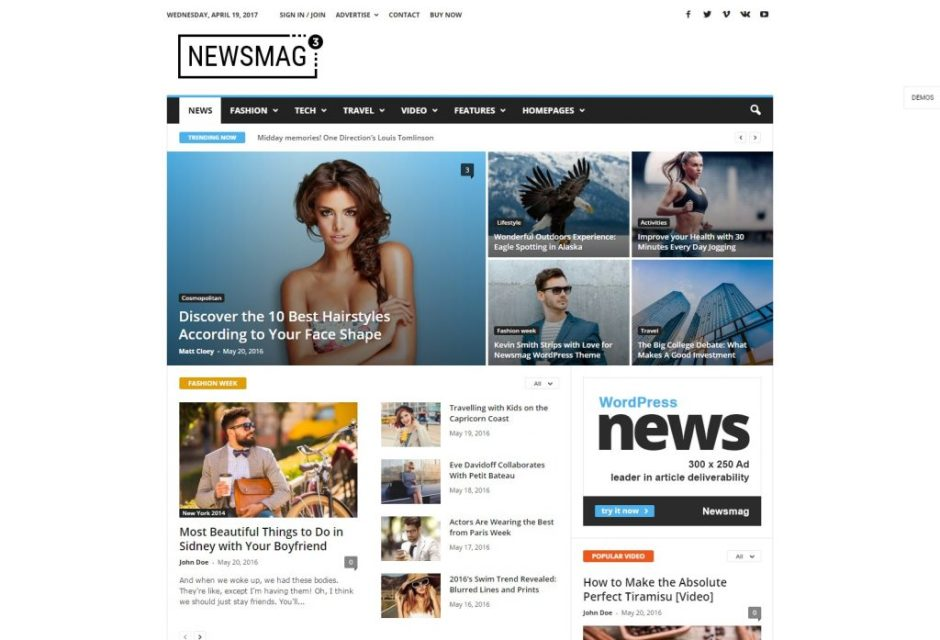 Newsmag Theme Demo The Finest Magazine WordPress Theme by tagDiv-compressed