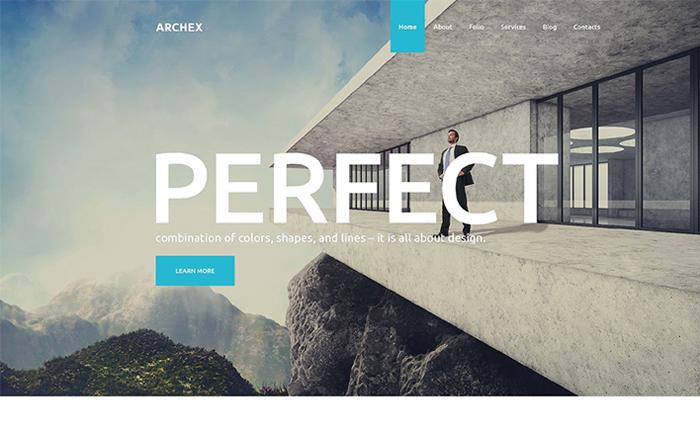 Architectural Finish WordPress Theme