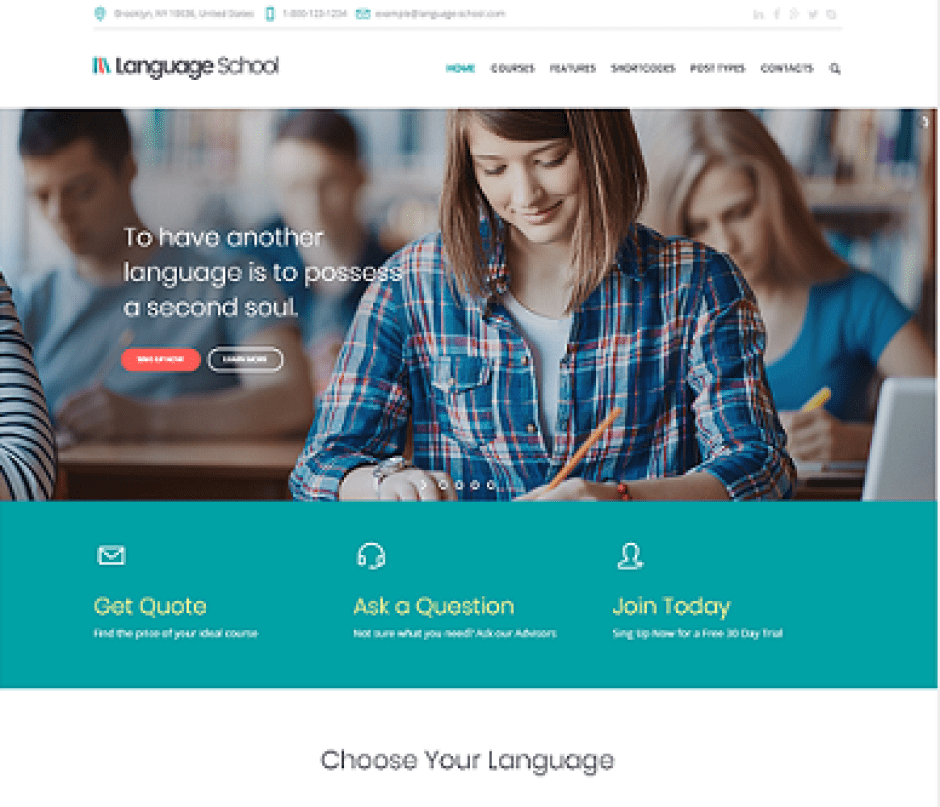 language-school