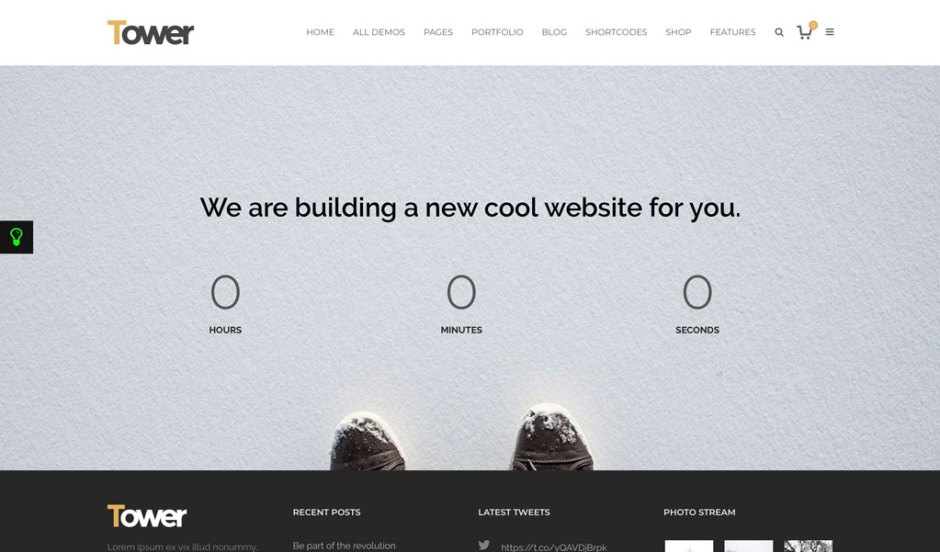 10+ Best Countdown Landing Page WordPress Themes - Codeless