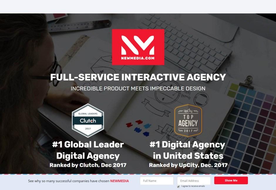 NEW MEDIA - Best Web Agencies in Los Angeles