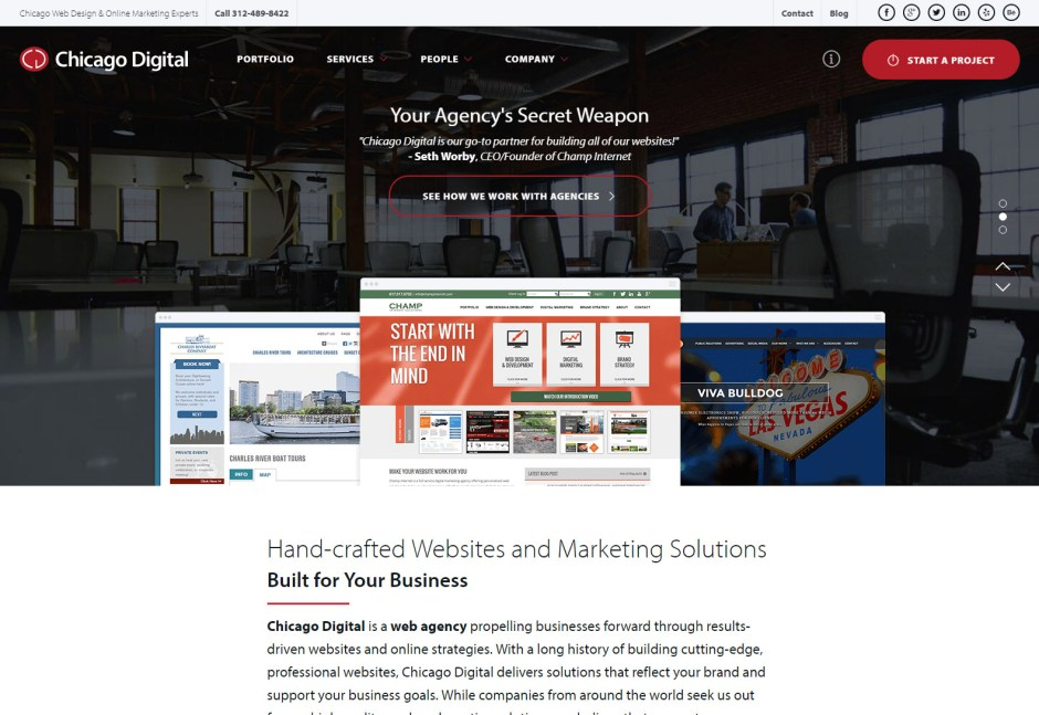 10+ Best Web Agencies in Chicago - Wordpress Premium Themes