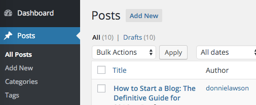 How to Start a Blog in 10 Easy Steps: The Definitive Guide for 2019