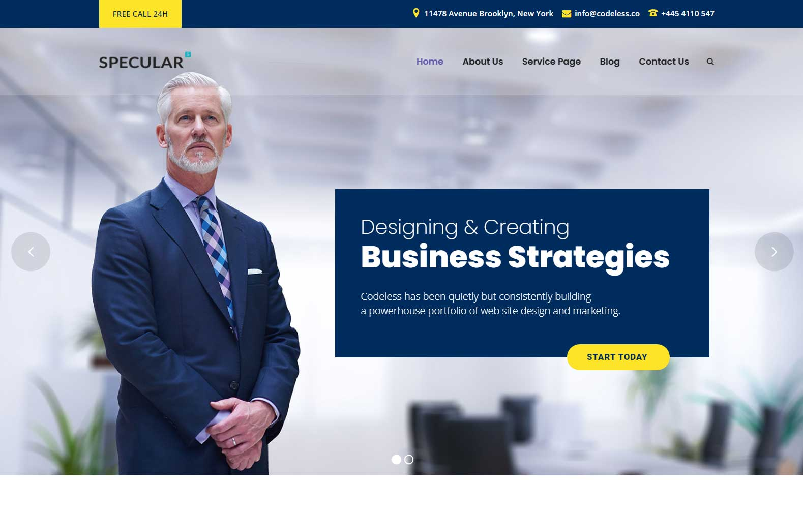 FinanceConsulting Specular 10+ Best Financial WordPress Themes Free and Premium of 2020