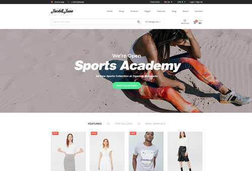 June Shop 11 WordPress Theme