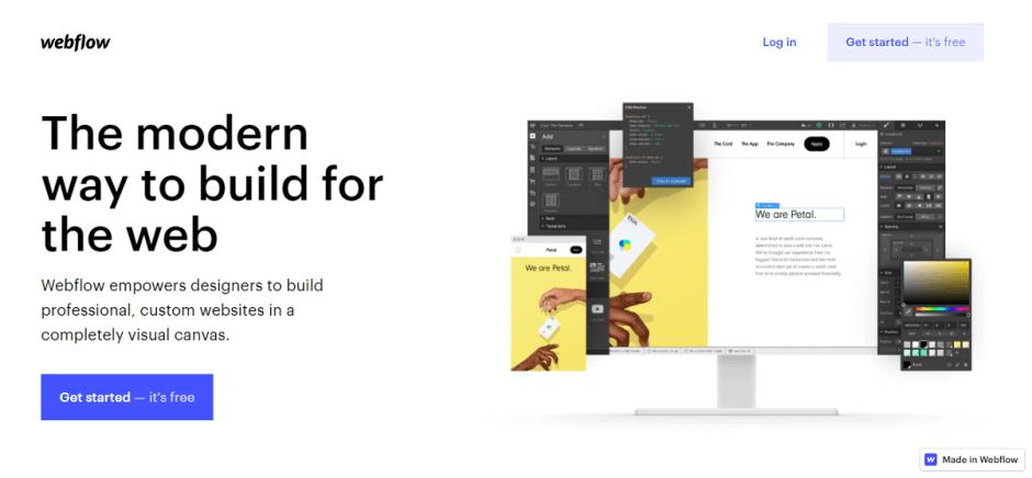 Webflow support