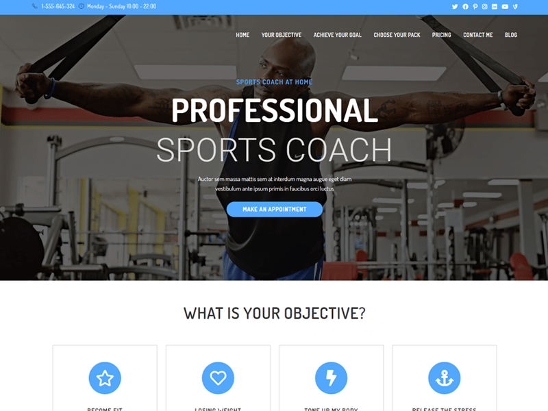 oceanwp wordpress themes for life coaches
