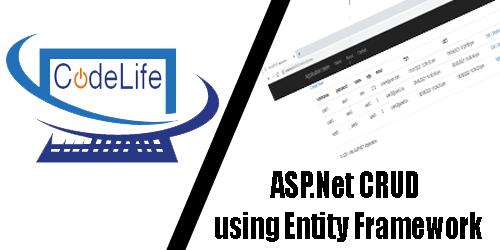 ASP.Net CRUD using Entity Framework