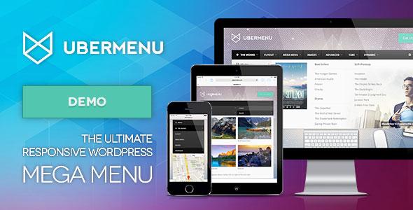 UberMenu v3.4 - WordPress Mega Menu Plugin