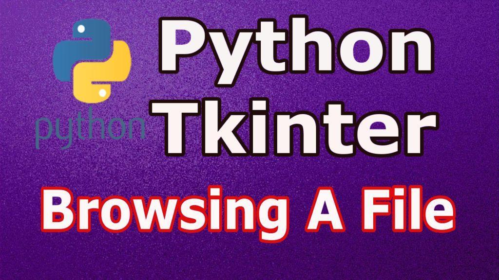 File handling in tkinter
