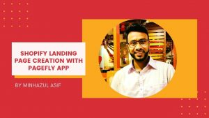 SHOPIFY landing page creation with PageFly App