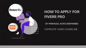 How To Apply For Fiverr Pro Live Video guideline to apply (On Programming And Tech Category – WordPress)
