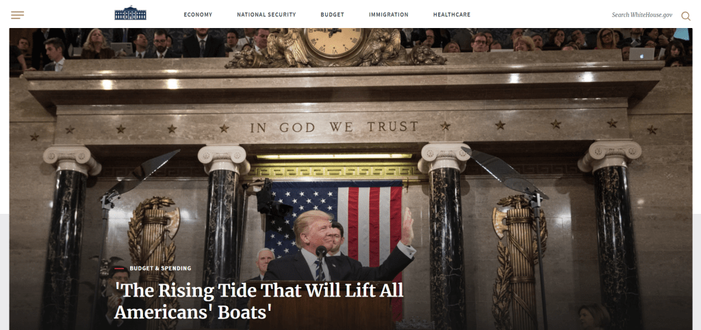 Home Page The White House