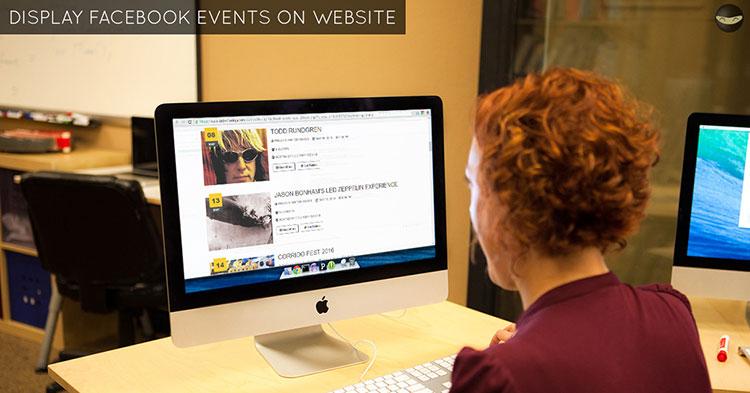 display-facebook-events-on-website