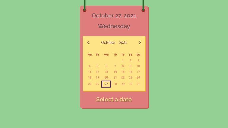 jQuery UI Datepicker Calendar