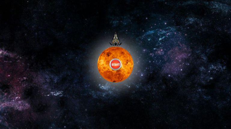 JS Planet defense game