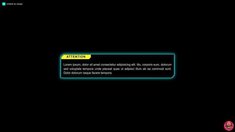 Notification UI