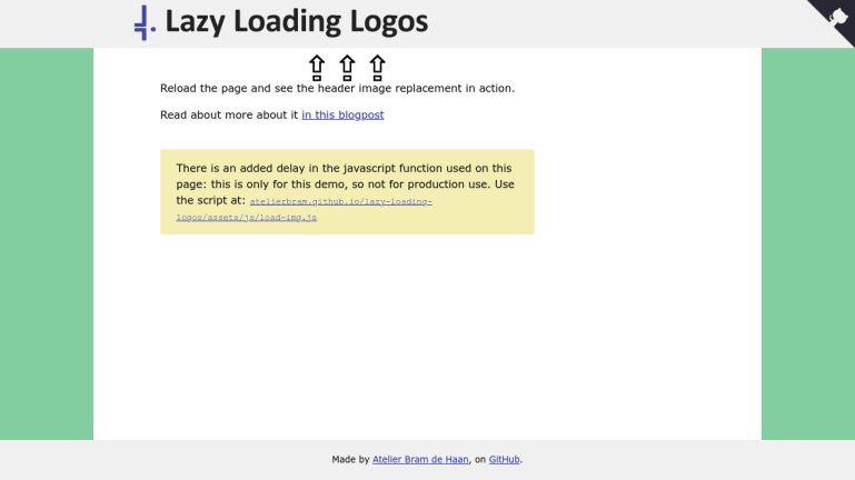 Lazy Loading Logos