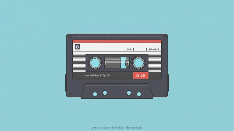 CSS Cassette Animation