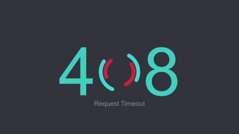 HTTP 408 Error