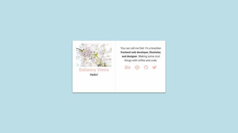 Profile Card - Pure CSS