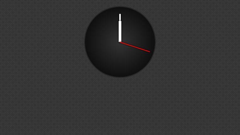 Analog Clock with the Web Animation API