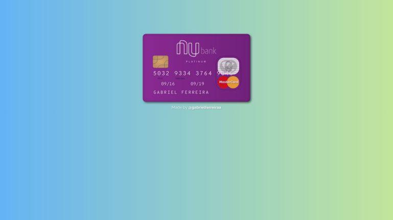 Nubank Credit Card