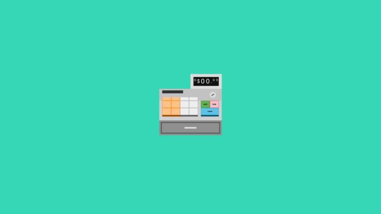 Interactive cash register w/ Vue & <sup> 💵🤑 #CodePenChallenge