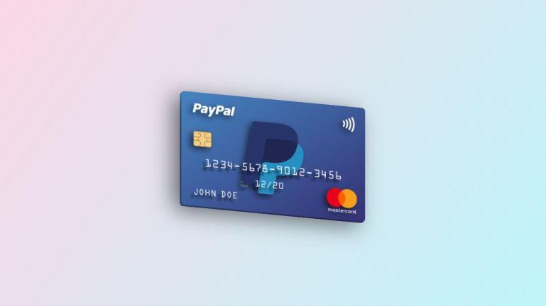 3D Floating Credit Card