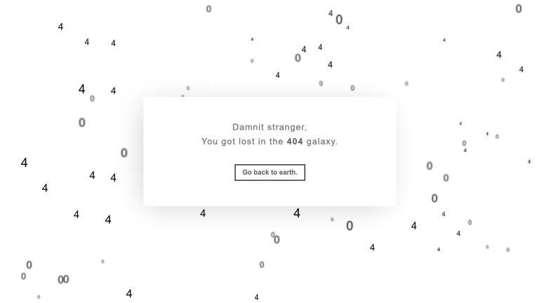 404 Galaxy Not Found