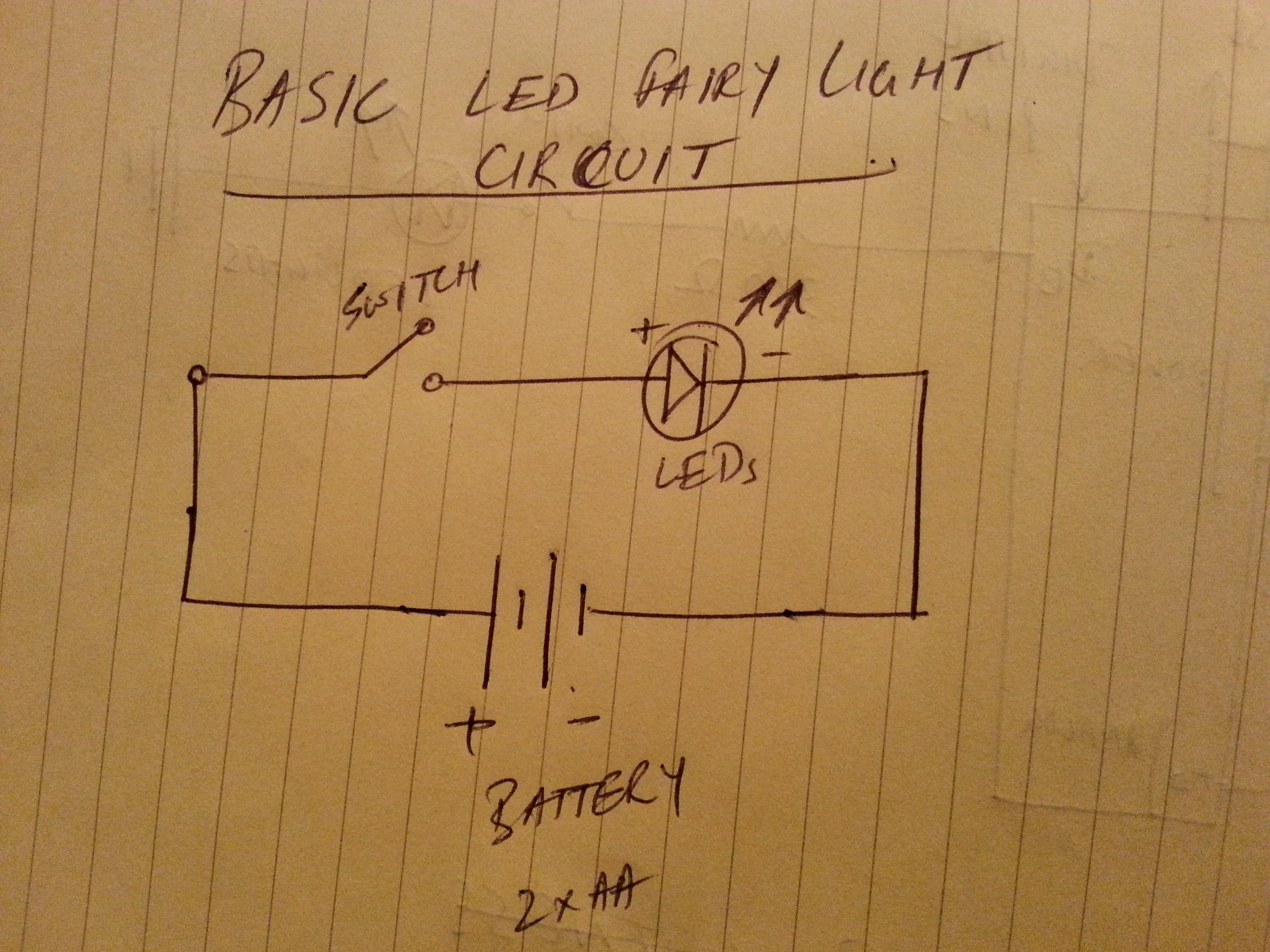Circuit Light Bulb On Wiring Diagram 3 Wire Led Christmas Lights