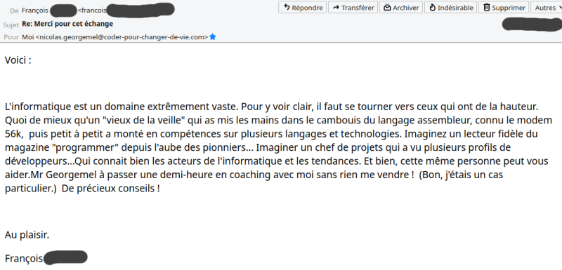 témoignage françois