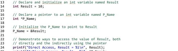 C programming pointers tutorial