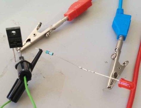 C2000 Solar MPPT Tutorial MOSFET Testing