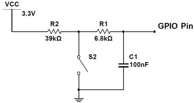 Switch Debouncing Tutorial switch circuit with debounce 2nd resistor
