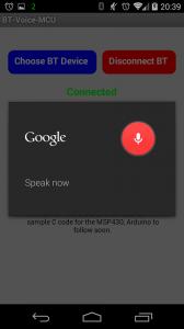 MSP430 Voice Control Over Bluetooth (6/6)