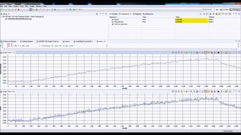 Code Composer Studio Graphing Tool Tutorial Video Result Capture MSP430 C2000 Tiva C