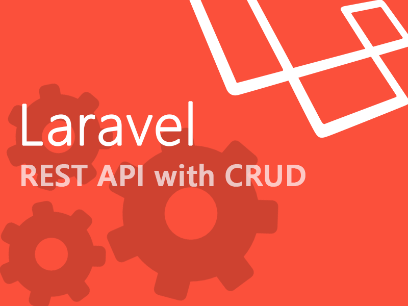 REST API in Laravel with CRUD functionality