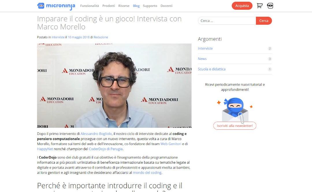 Intervista a Marco Morello