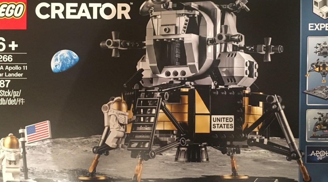 Dalla Terra alla Luna con i LEGO