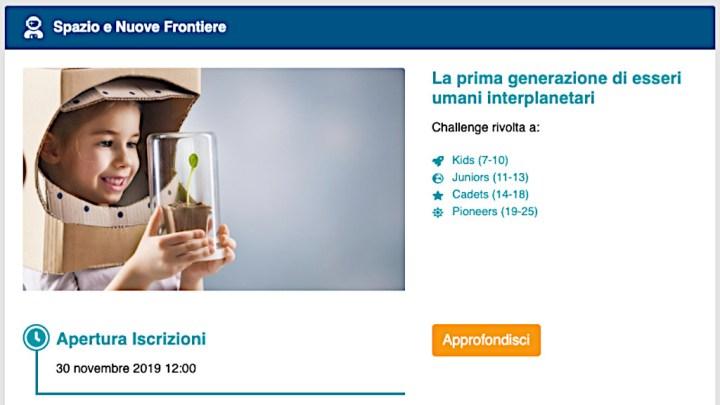 Foto dell'International STEM Award a Perugia (partecipazione del CoderDojo della città)
